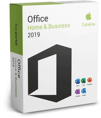 Office Home & Business Mac Catalina 2020