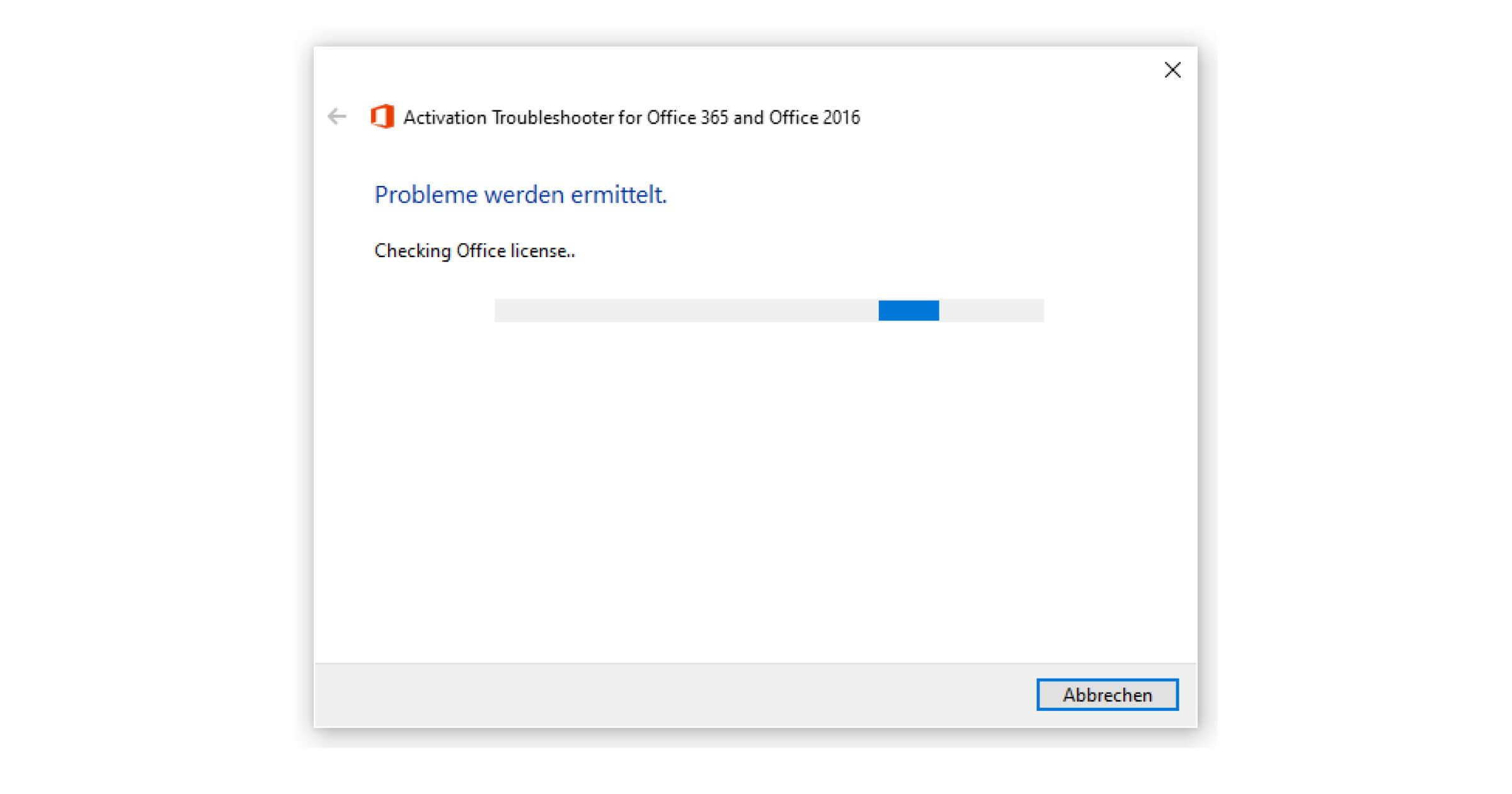 Version überprüfen, Office aktivieren und nicht lizenzierte Produkte anmelden
