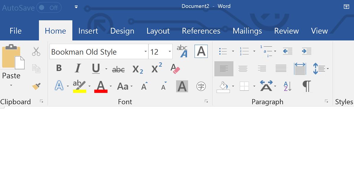 Unterschied Office 2016 und 2019 in Word erkennen