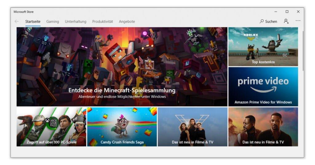 Unterschied Windows 10 Home vs Pro: erweitertes Angebot im Shop