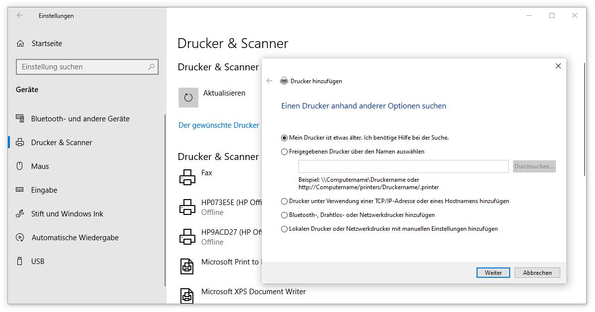 Treiber, mit denen du bei Windows 10 Drucker installieren kannst