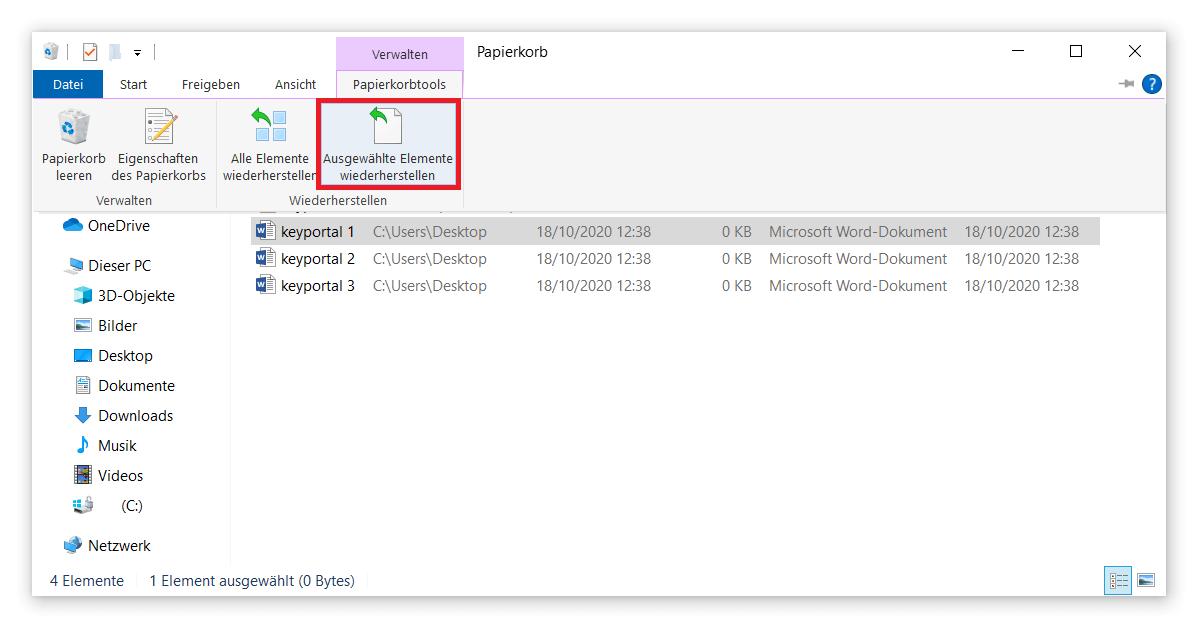 Gelöschte Daten unter Windows 10 ganz einfach wiederherstellen