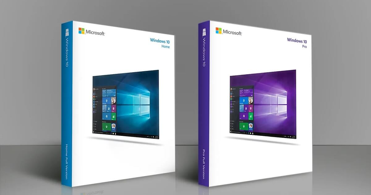 Windows 10 Home vs Pro – Farblicher Unterschied der Produkte