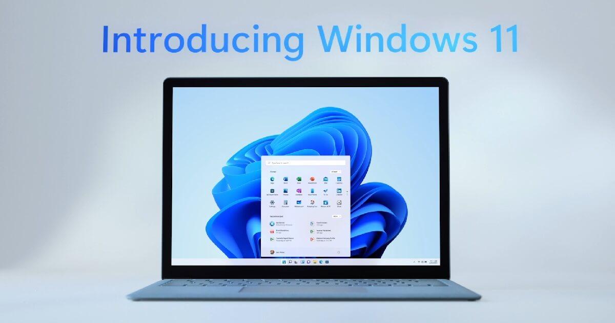 Die ersten Bilder bei unseren Windows 11 News