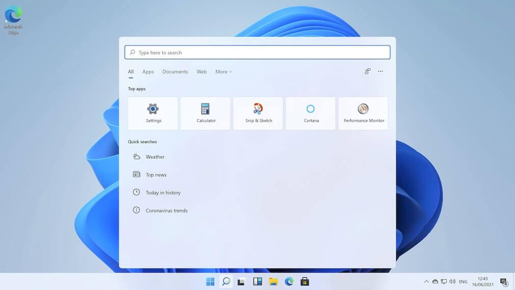 Finde deine Dateien und Programme